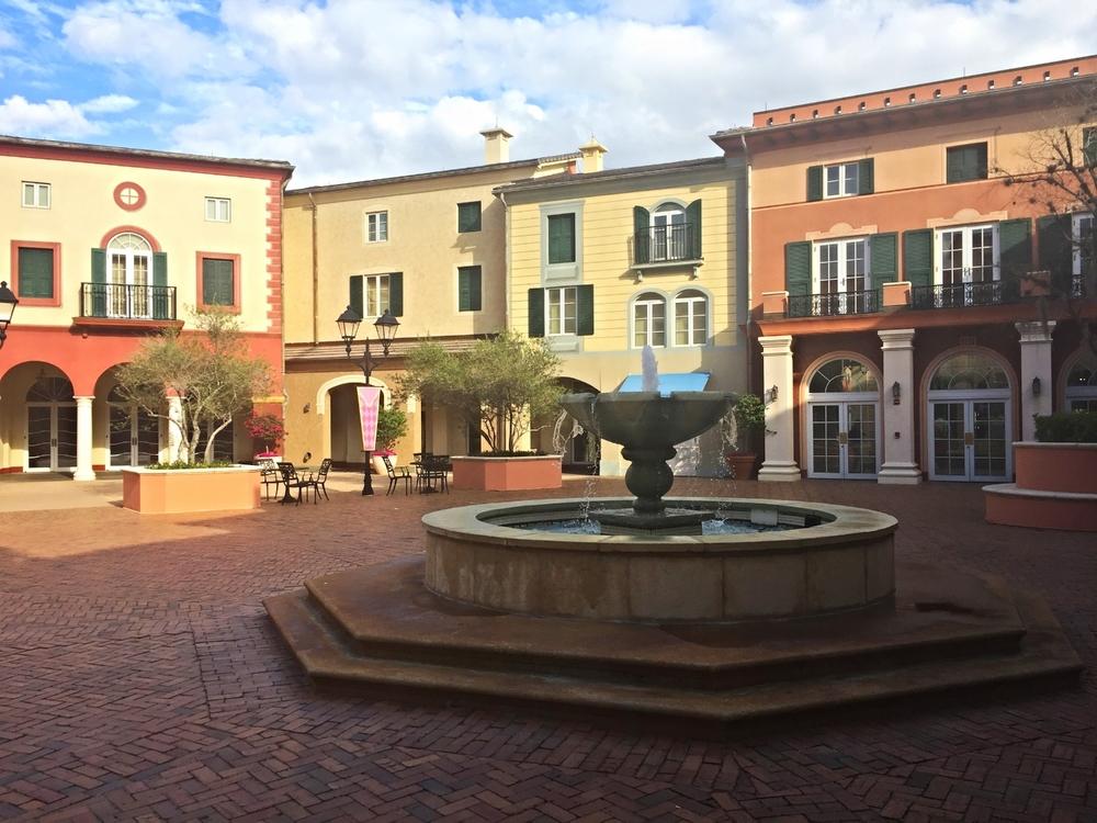 Loews Portofino Bay Resort Courtyard