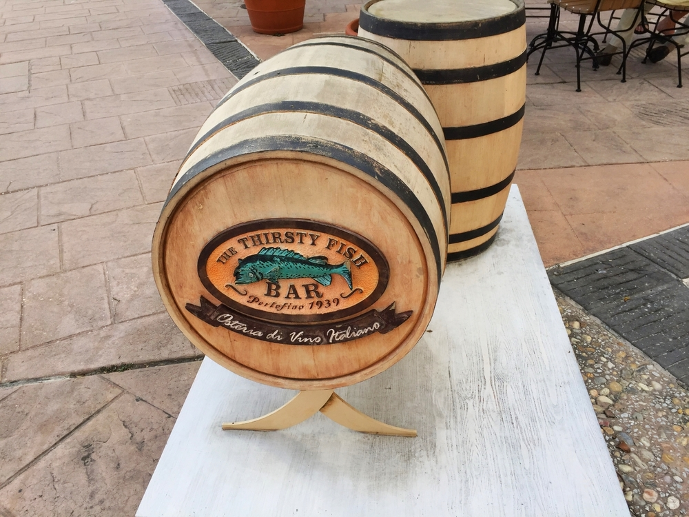 Thirsty Fish Bar Barrels