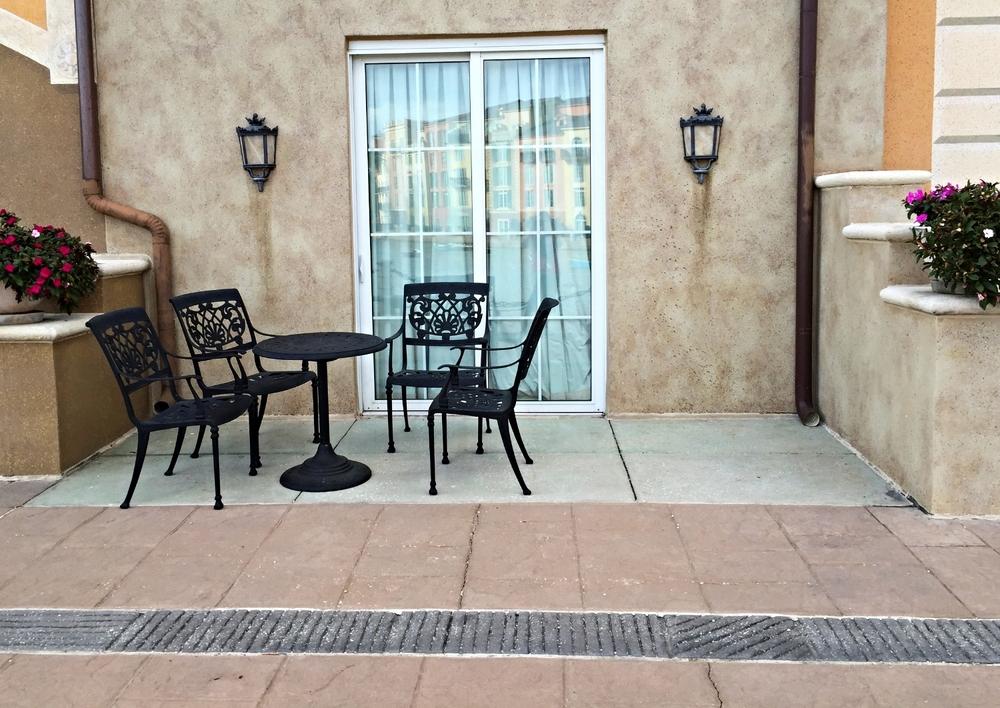 Loews Portofino Bay Resort Guest Room Terrace