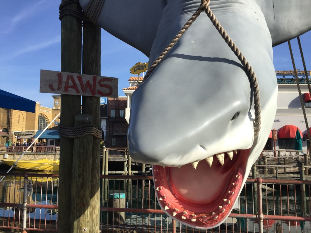 Jaws in the San Francisco area of Universal Studios Florida.