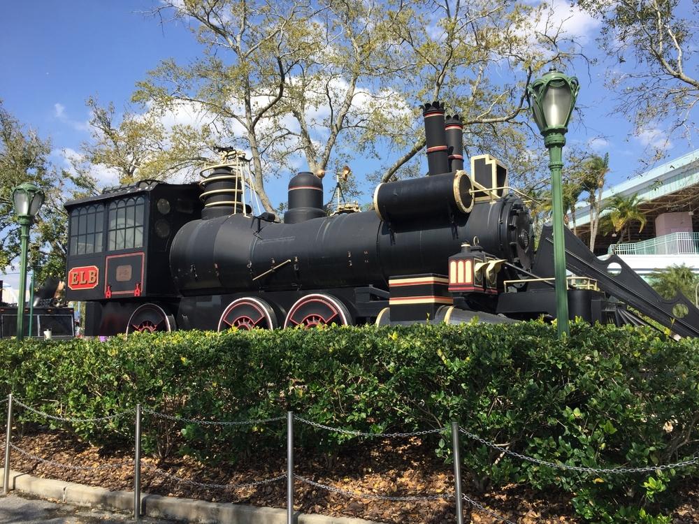 The Jules Verne Train in Universal Studios Florida.