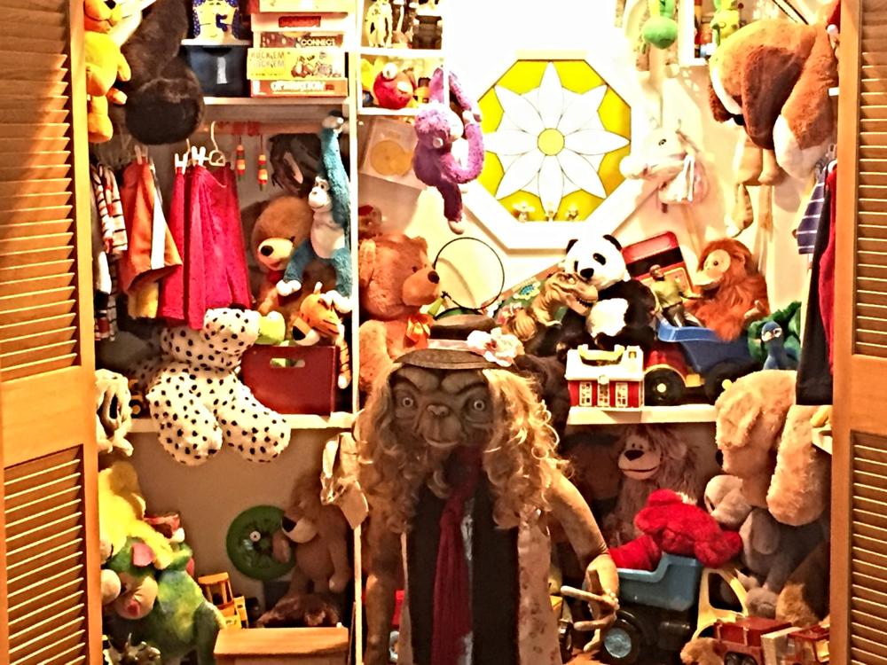 E.T. in E.T's Toy Closet in Universal Studios Florida.