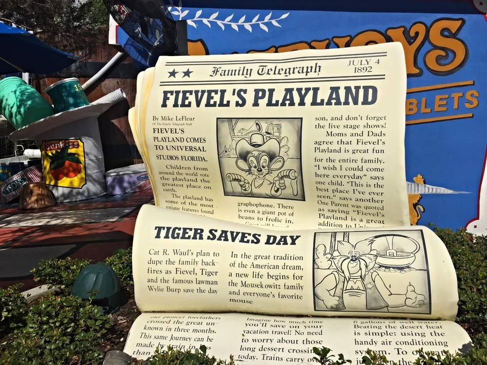 Learn about every play area in Universal Studios Florida and Universal's Islands of Adventure.