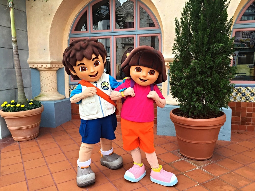 Learn about character zones and meet and greets in Universal Studios Florida and Universal's Islands of Adventure.