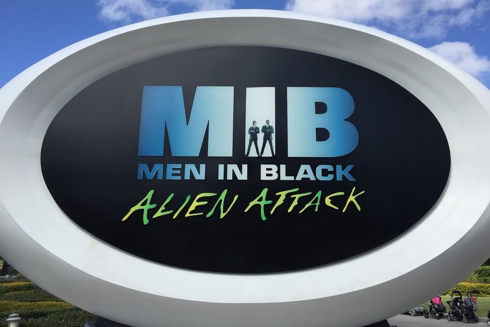 Learn about Men in Black Alien Attack, an interactive dark ride with laser guns in Universal Studios Florida.