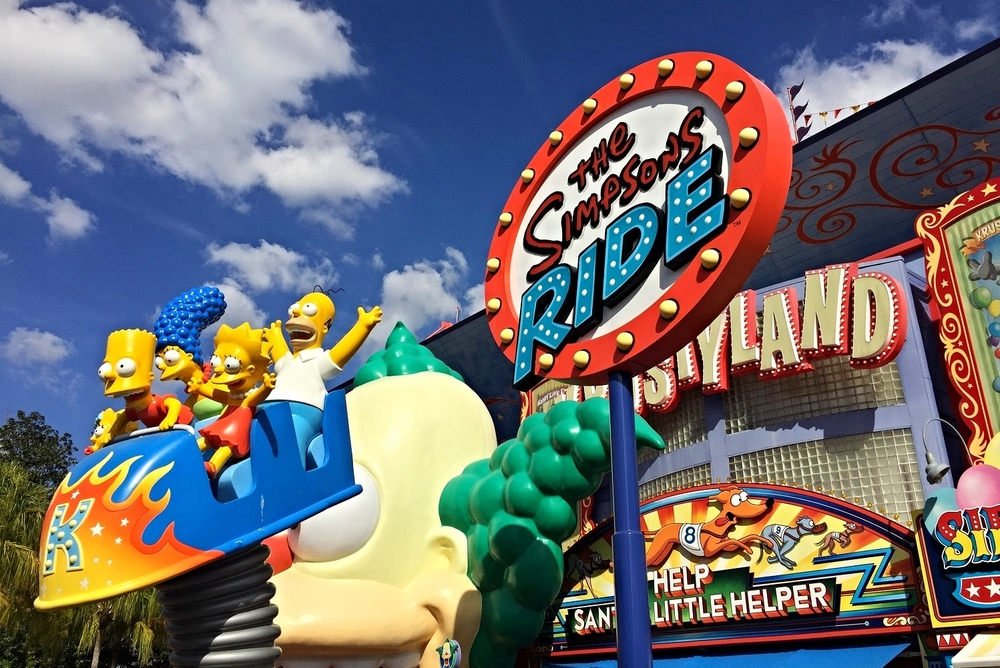 Discover how to tour Krustyland with the Simpsons family on The Simpsons Ride in Springfield U.S.A.