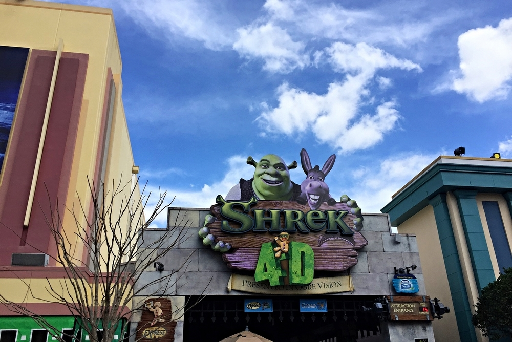 Learn about Shrek 4-D, a Universal Studios Florida ride that combines a short animated film with simulated motion.