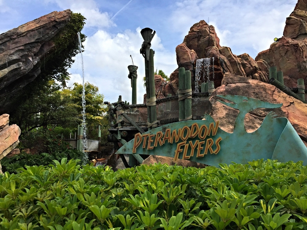 Learn about Pteranodon Flyers, a Jurassic Park themed aerial coaster in Islands of Adventure.