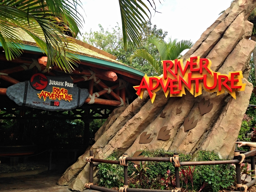 Read about Jurassic Park River Adventure, an Islands of Adventure water ride based on the Jurassic Park movie.