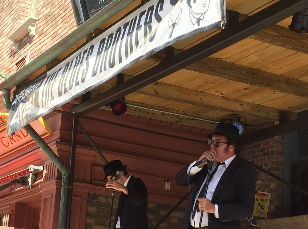 The Blues Brothers Show is a live musical show featuring performances from Jake and Elwood (The Blues Brothers).