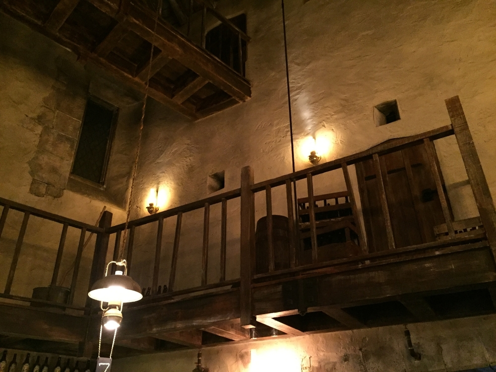Leaky Cauldron Balcony