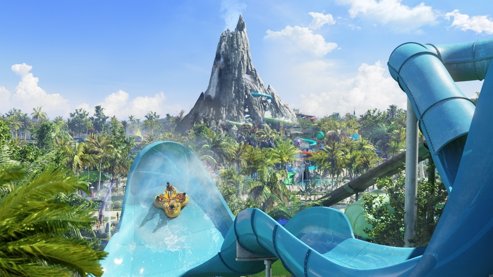 Honu at Volcano Bay. Image credit: Universal Orlando Resort.