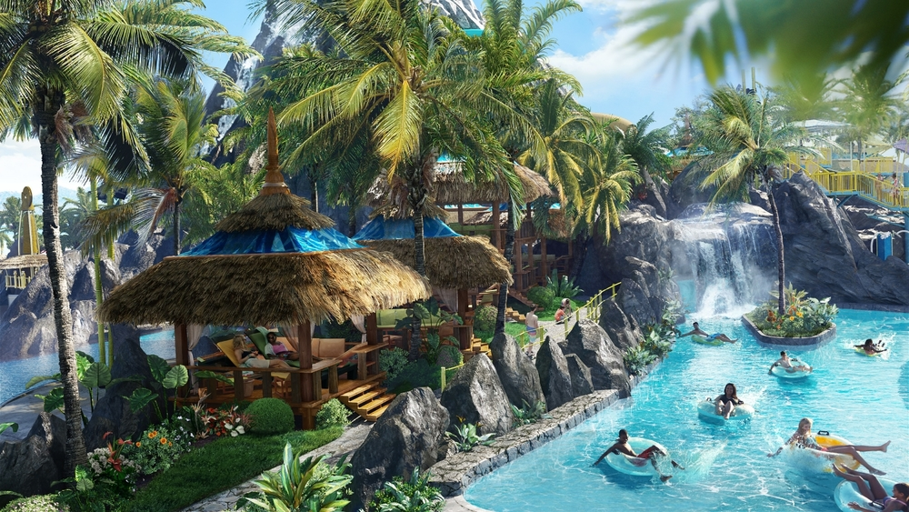 Kopiko Wai Winding River at Volcano Bay. Image credit: Universal Orlando Resort.