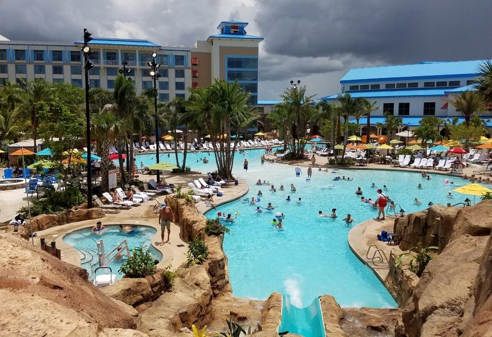 Loews Sapphire Falls Resort pool.