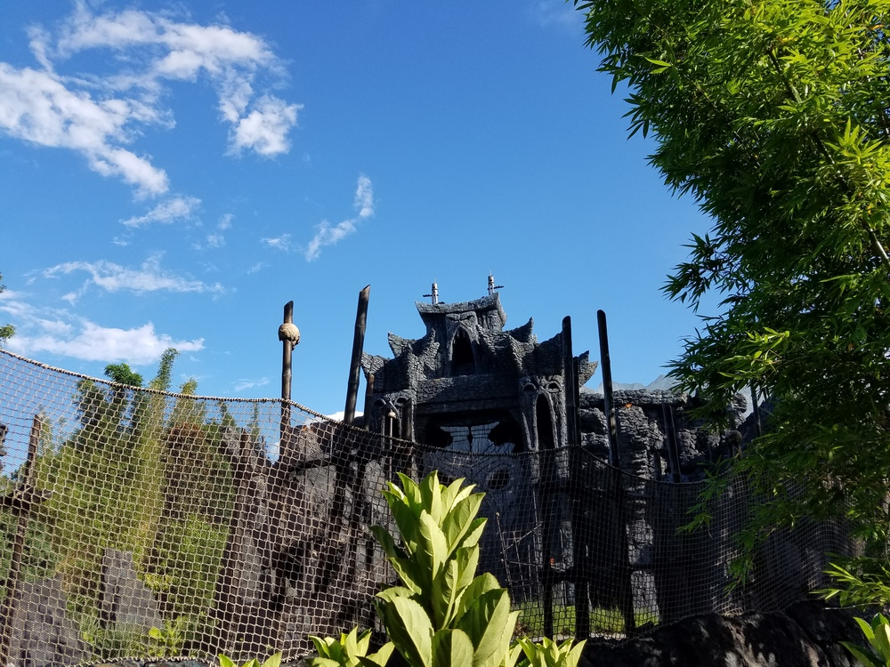 Kong's Temple and Fence