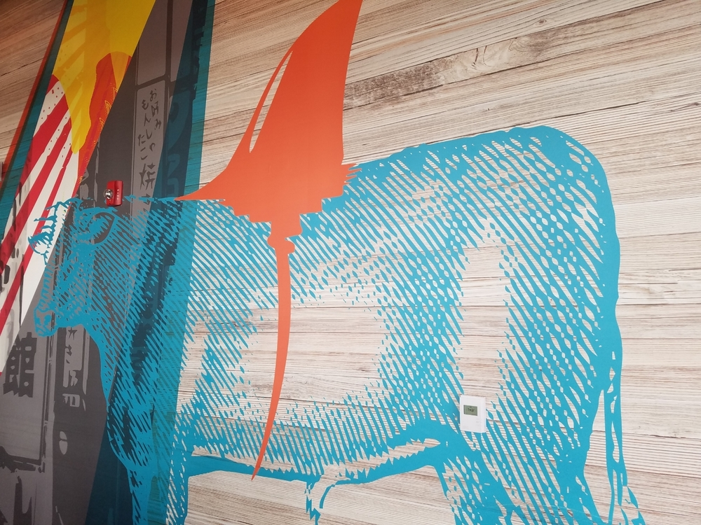 Cow Wall Art at Cowfish