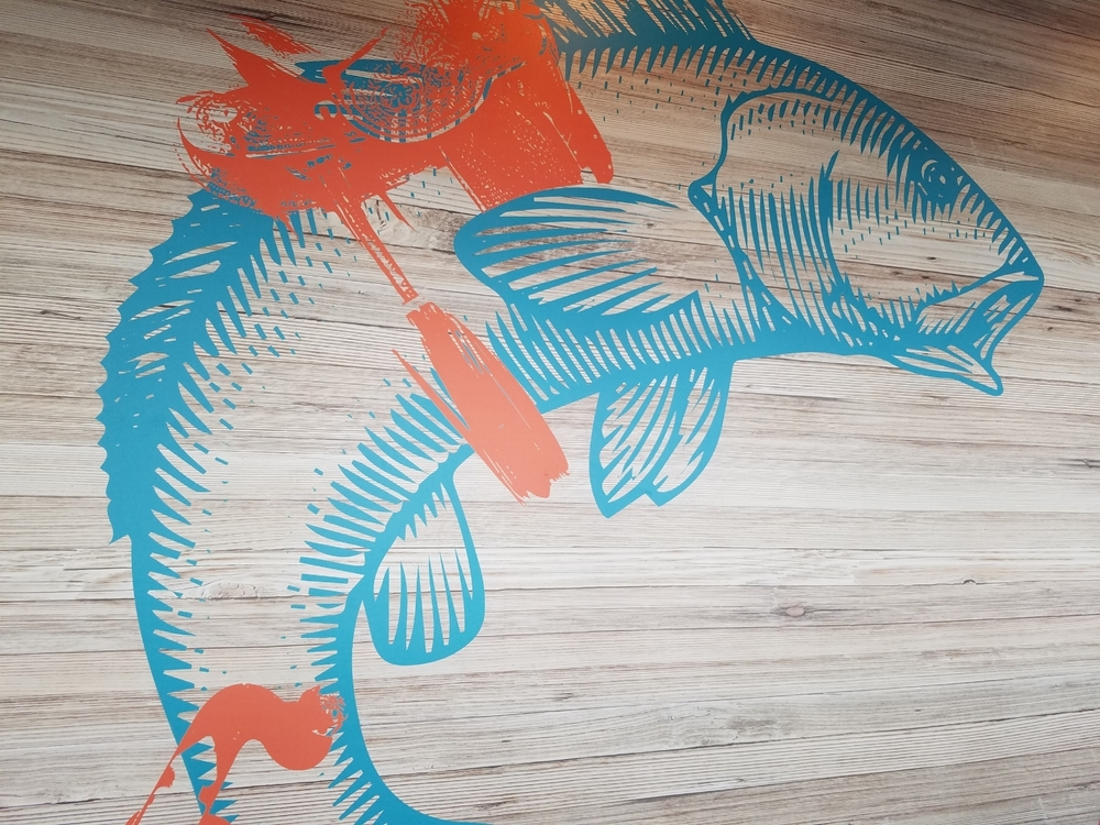 Fish Wall Art at Cowfish