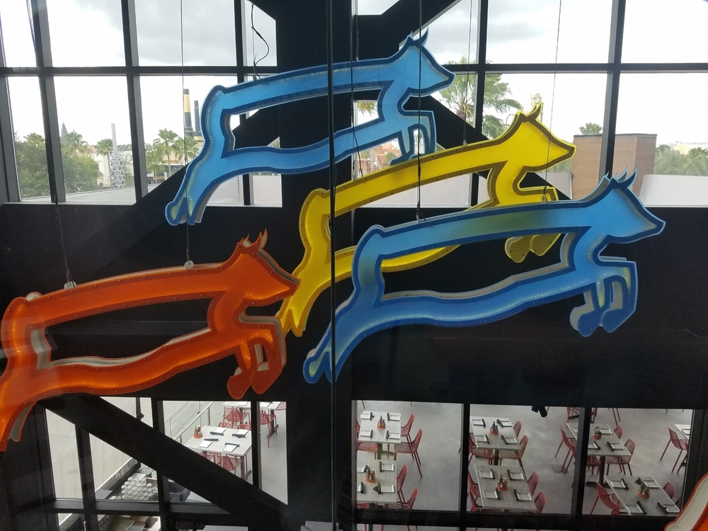 Jumping Cow Art at Cowfish