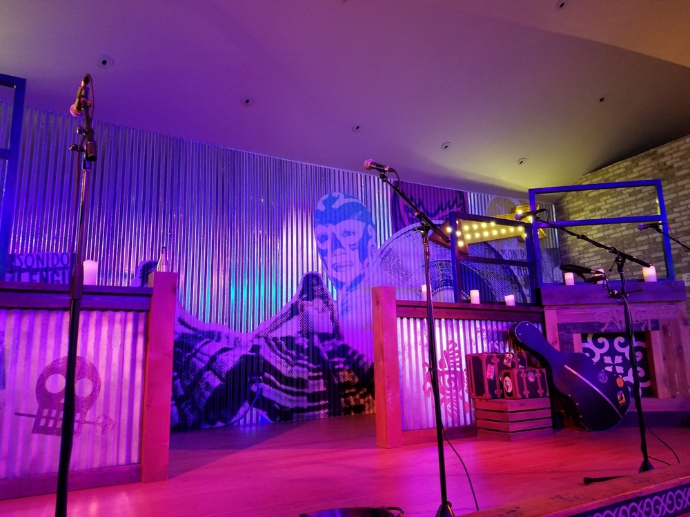 Stage at Antojitos