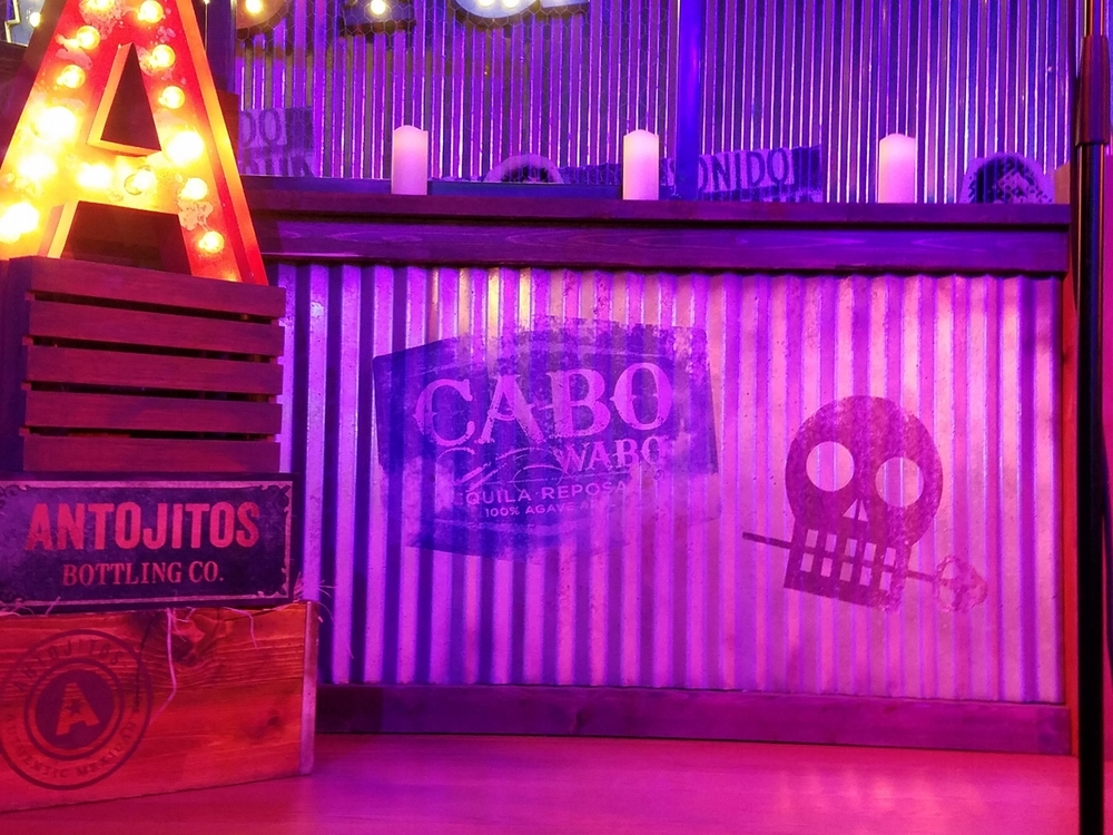 Stage Decoration at Antojitos