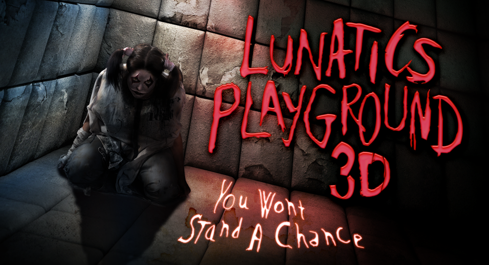 Lunatic's Playground 3D: You Won't Stand a Chance promo picture. Image credit: Universal Orlando Resort.