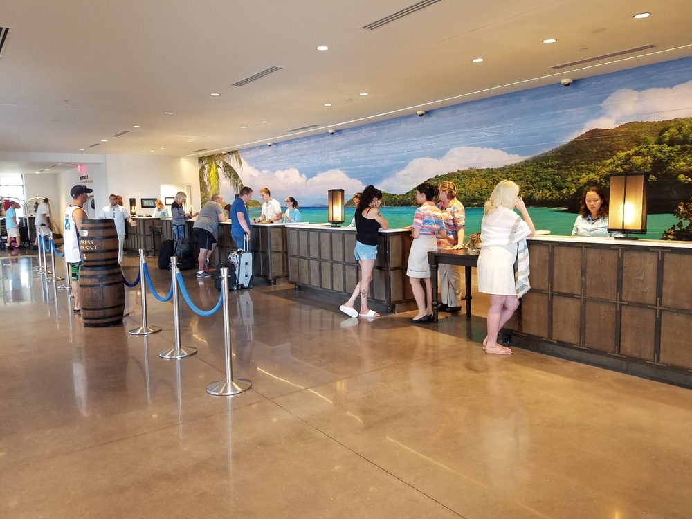 Check-In at Loews Sapphire Falls Resort