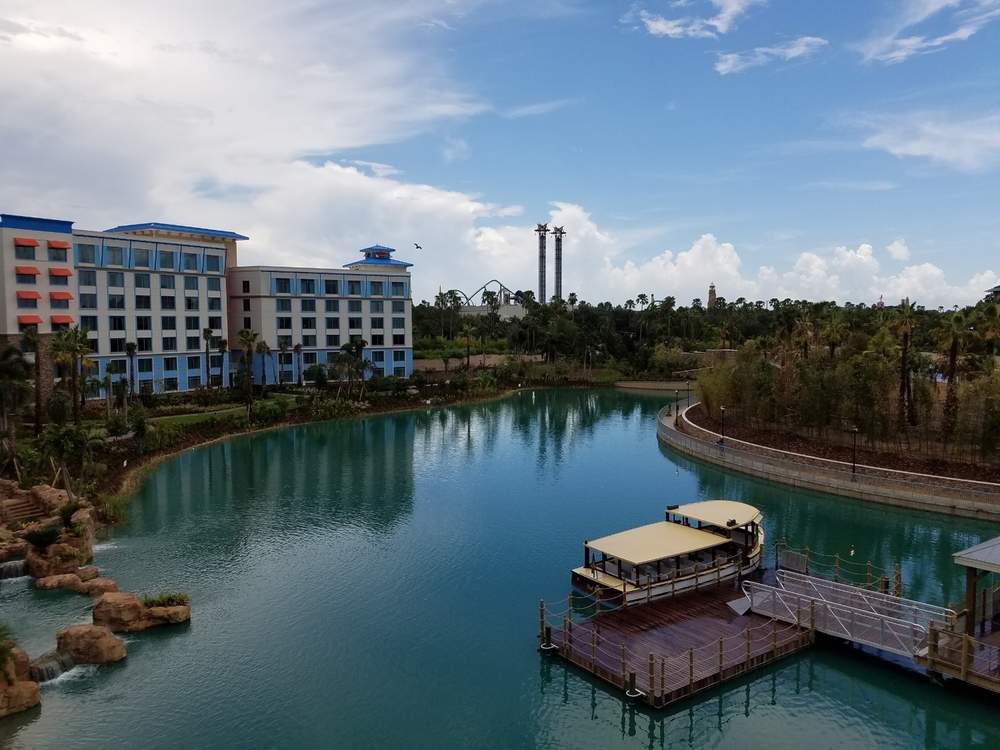 View of the Lagoon at Loews Sapphire Falls Resort