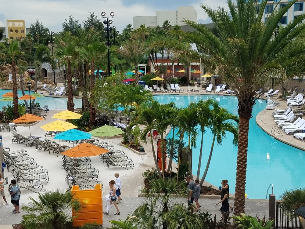 Most of the Pool at Loews Sapphire Falls Resort