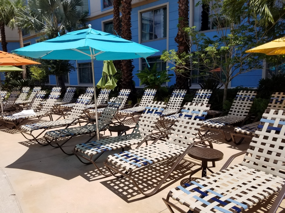 Poolside Loungers at Loews Sapphire Falls Resort