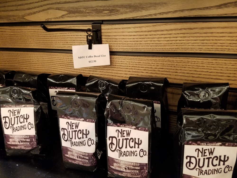 Purchase Coffee to Take Home From New Dutch Trading Co.