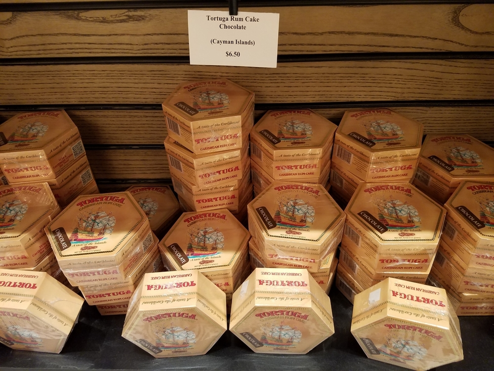 Rum Cake for Sale at New Dutch Trading Co.