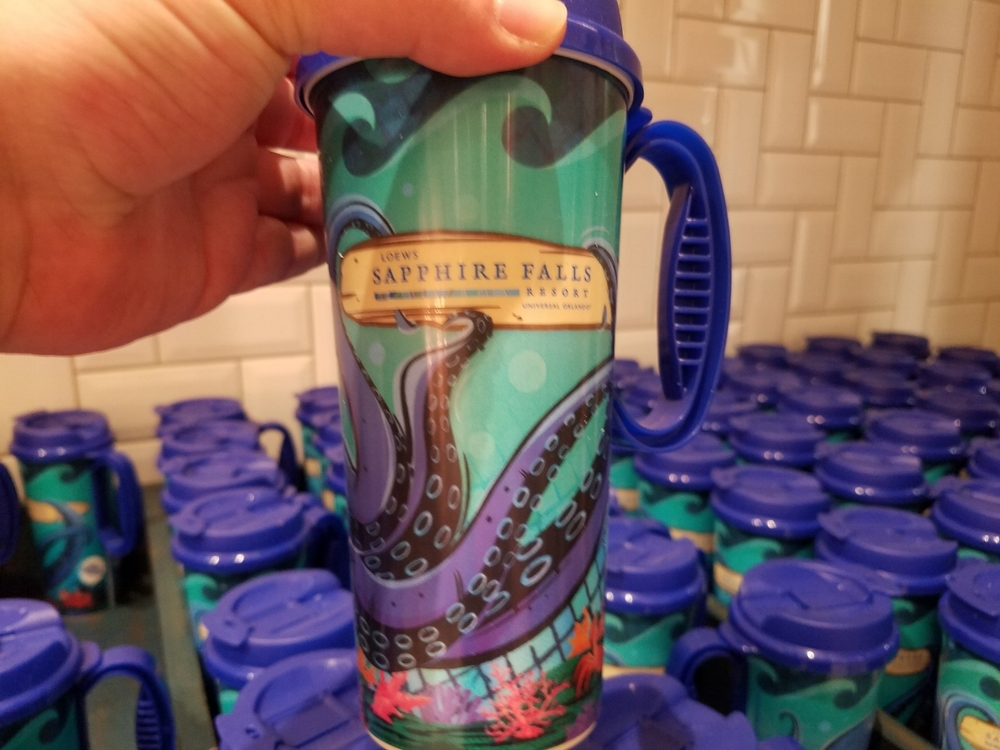 Loews Sapphire Falls Refillable Cup at New Dutch Trading Co.