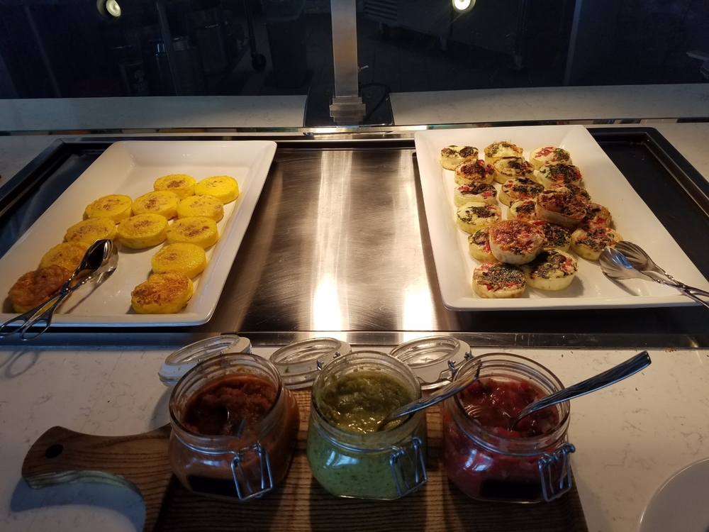 Breakfast Buffet Options at Amatista Cookhouse
