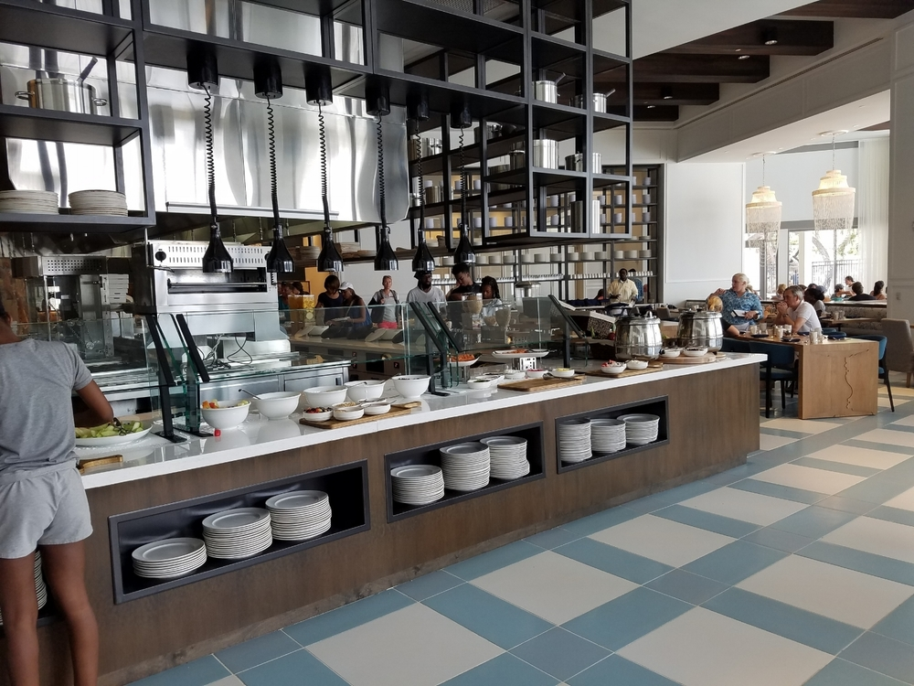 Breakfast Buffet at Amatista Cookhouse