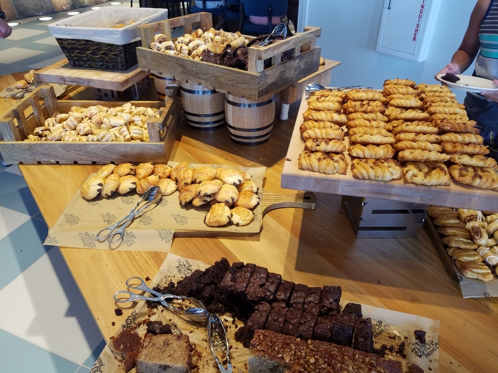 Pastry Options at Amatista Cookhouse Breakfast Buffet