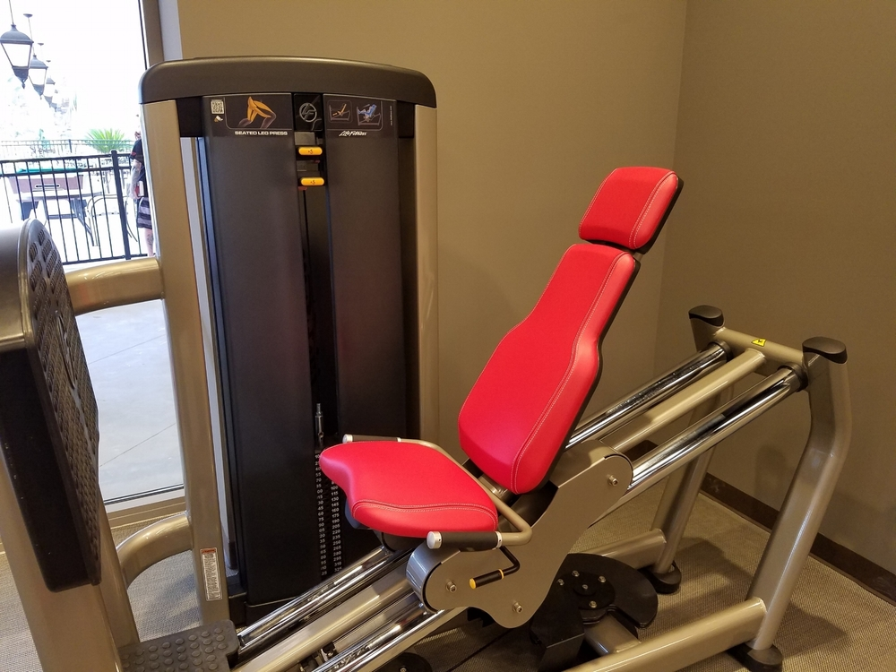 Fitness Equipment Located in Kalina Health and Fitness Room