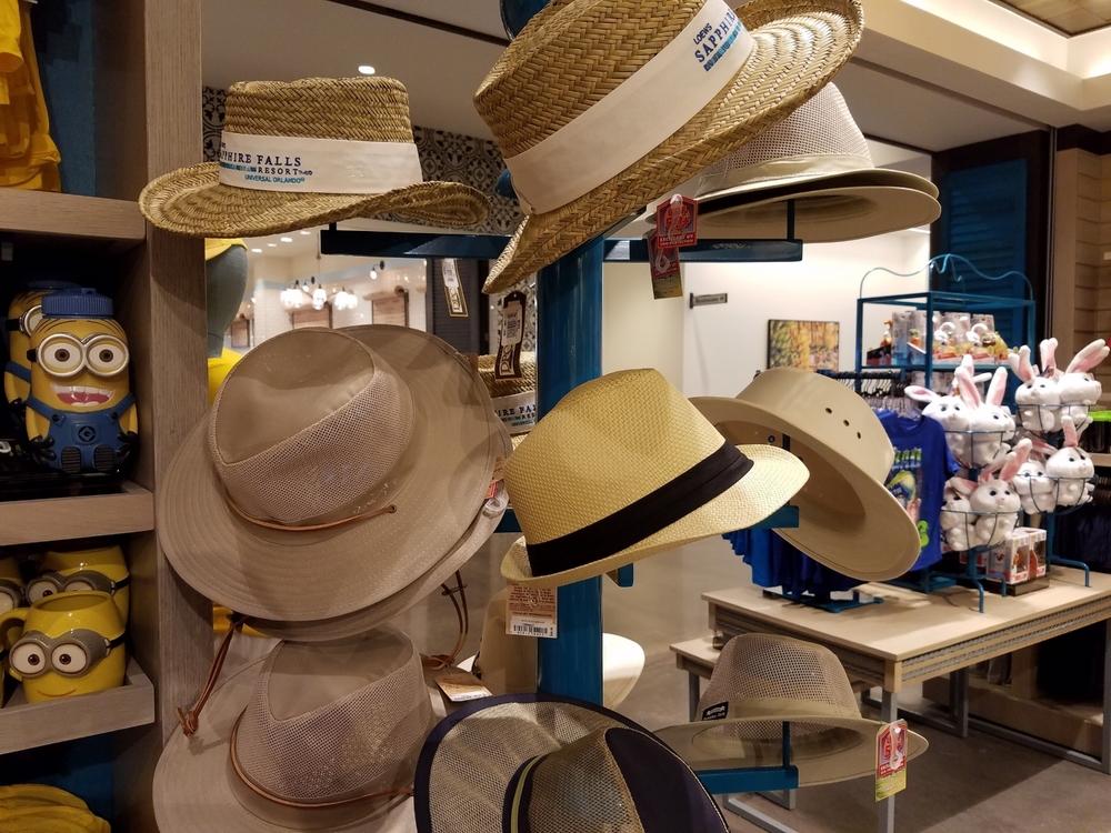 Sapphire Falls Hats at Universal Studios Store at Sapphire Falls