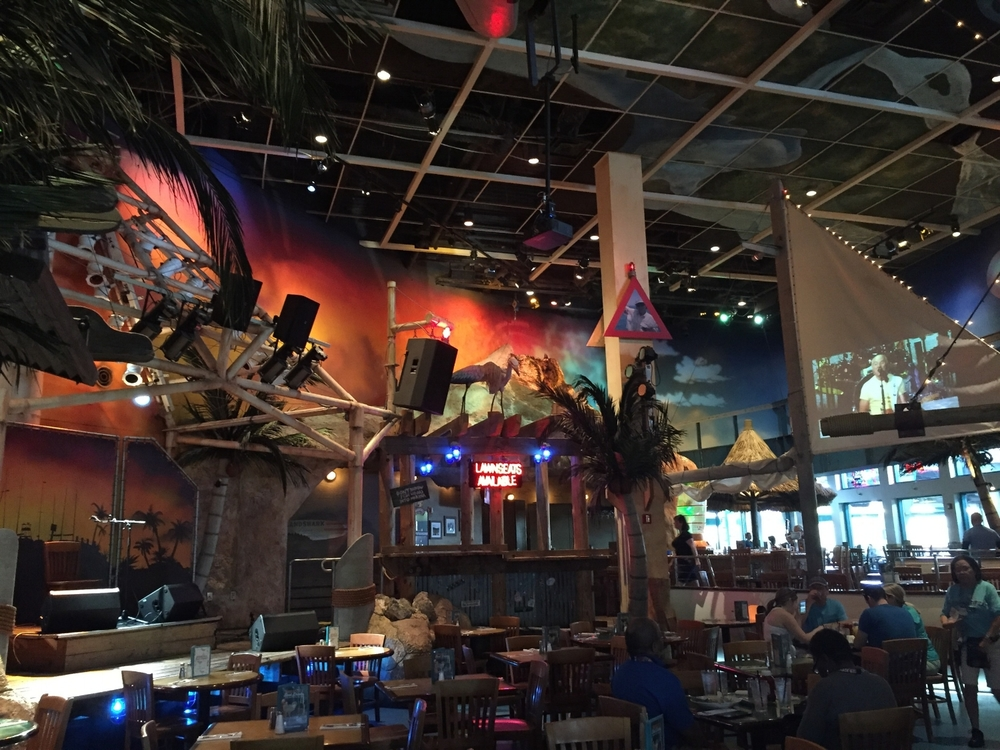 Seating Near the Stage at Jimmy Buffet Margaritaville