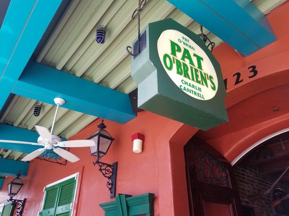 Pat O'Brien's Entrance Sign