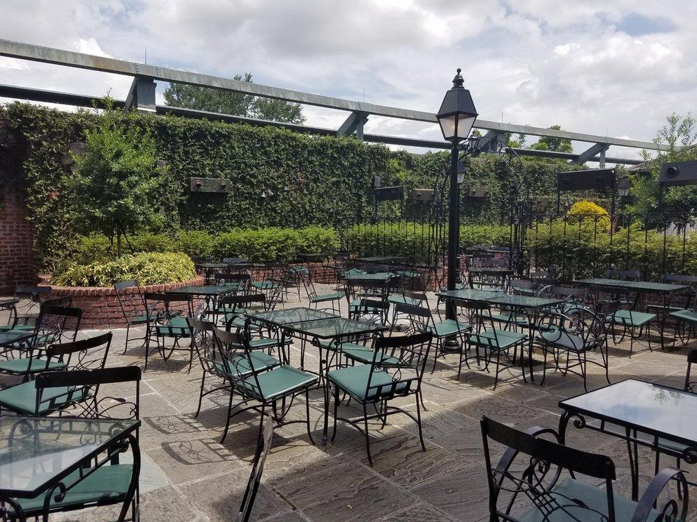 Outdoor Seating at Pat O'Brien's