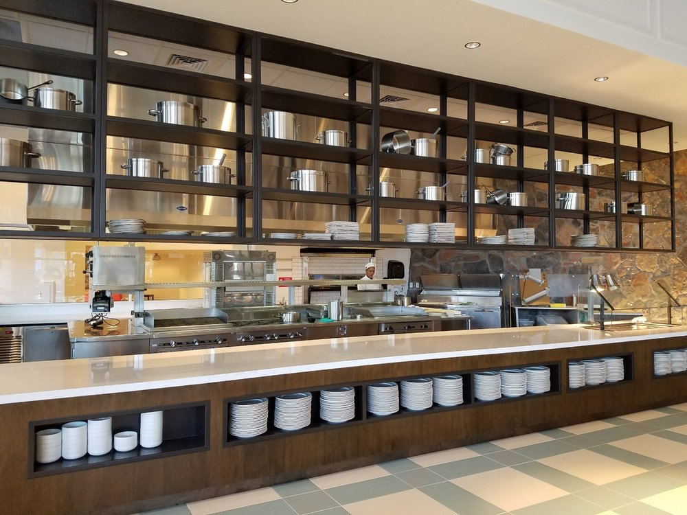 Open Kitchen at Amatista Cookhouse