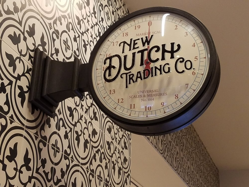 New Dutch Trading Co. Sign