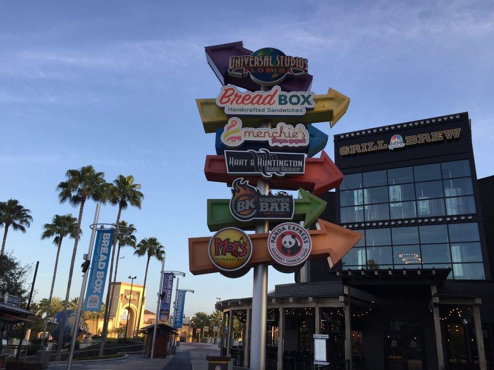 Plenty of Food Options in CityWalk