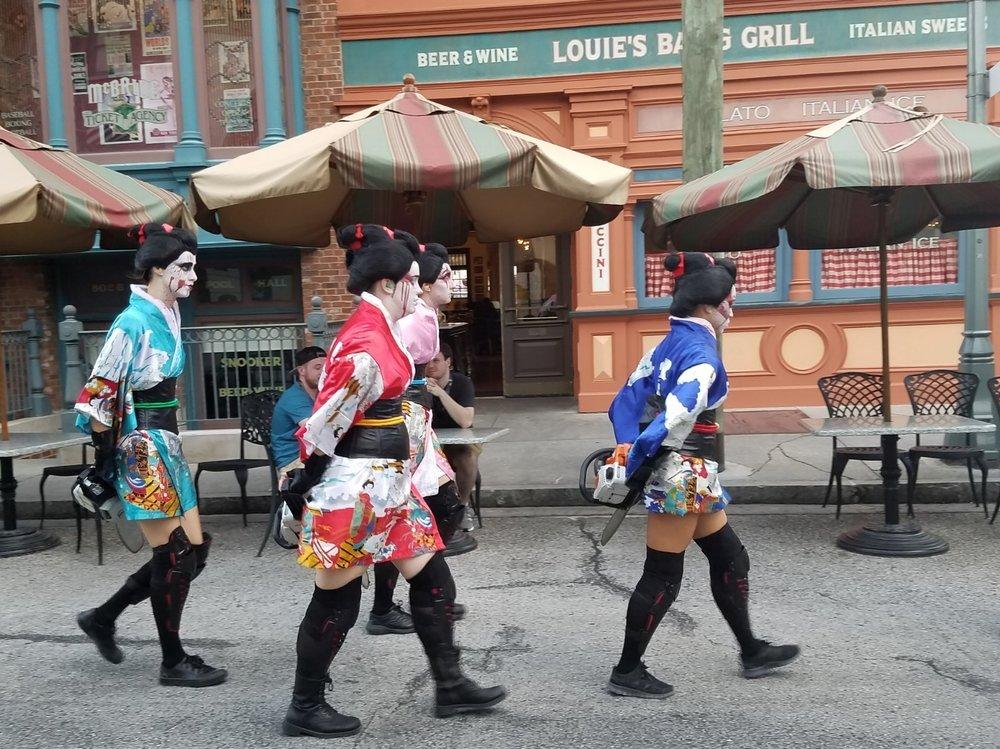 Geisha Scareactors in the New York area.