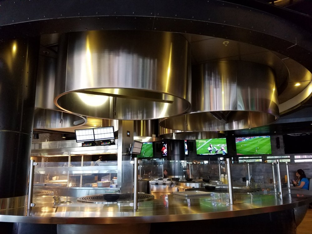 NBC Sports Grill & Brew Open Kitchen