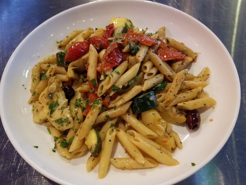 Grilled Vegetable Pasta at NBC Sports Grill & Brew