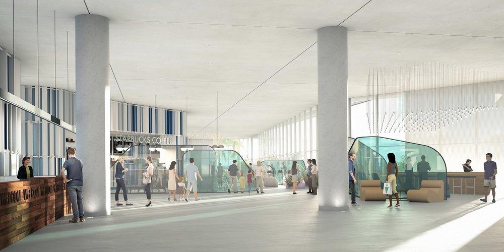 Universal Aventura Hotel Lobby Concept Art