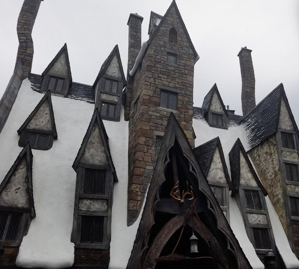Three Broomsticks Roof