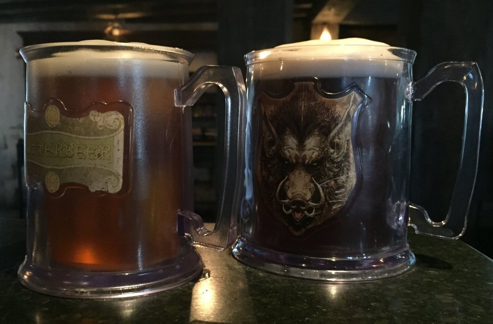 Souvenir Mugs at the Three Broomsticks