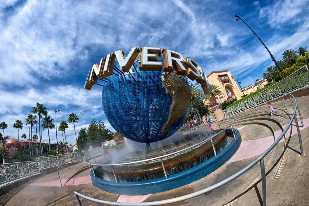 The Universal Orlando globe. Copyright Mike Sperduto. All rights reserved.